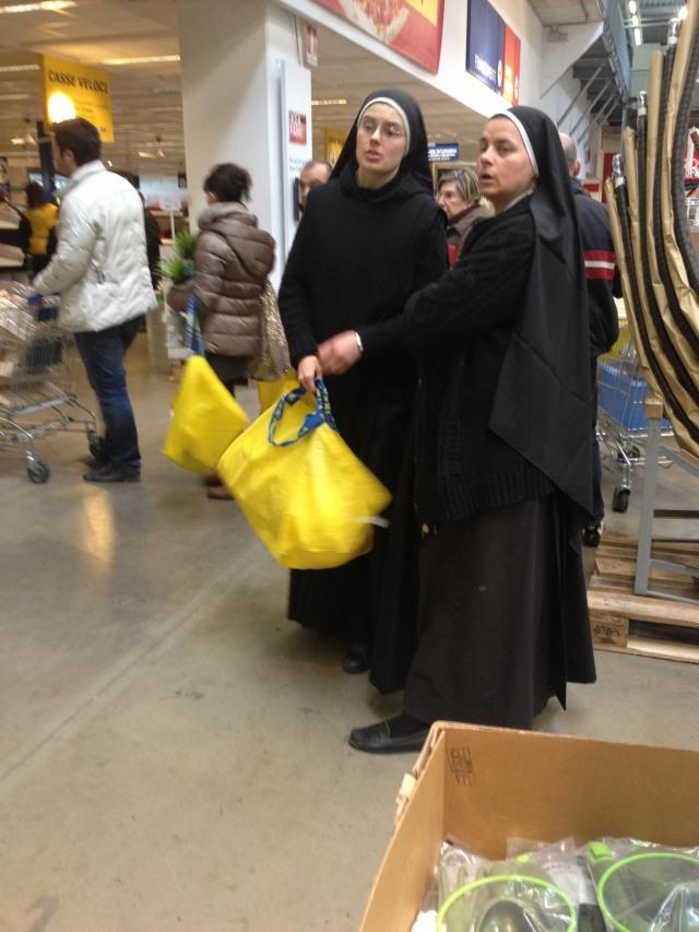 Nuns IKEA